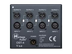 Heritage Audio - OST-4 V2.0 - 4-Slot 500 Rack