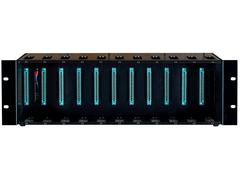 BAE Audio - 11-Slot Rack (500 Series), mit 48V und PSU